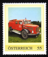 ÖSTERREICH 2008 ** Tanklöschfahrzeug TLF 16 Steyr 380 Diesel - PM Personalized Stamp MNH - Feuerwehr