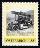 ÖSTERREICH 2008 ** Automobilspritze, Fiat C1 - PM Personalized Stamp MNH - Feuerwehr