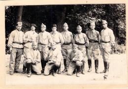 Carte Photo Ancienne Camp De Bitche   1929 Soldats - Guerre, Militaire