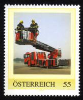 ÖSTERREICH 2008 ** Feuerwehr / Hochleistungsdrehleiter- PM Personalized Stamp MNH - Feuerwehr