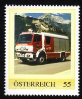 ÖSTERREICH 2008 ** Feuerwehr, Fire Brigade - PM Personalized Stamp MNH - Feuerwehr
