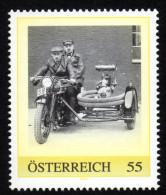 ÖSTERREICH 2008 ** Tragkraftspritze  Auf Triumph Beiwagen 1929 - PM Personalized Stamp MNH - Feuerwehr