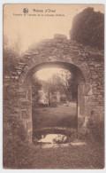 Orval   2cpa Ruines D'Orval Fontaine   ,La Tour Des Archives - Kerken En Kloosters