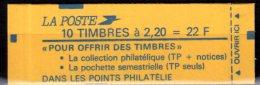 2376 C8 LIBERTE CARNET De 10 TP à 2.20F. FAITES DE LA MUSIQUE CONF. 9 - Carnets