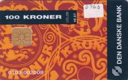 Denmark, DD 076b, Coins (orange), Only 5000 Issued, 2 Scans. - Danemark