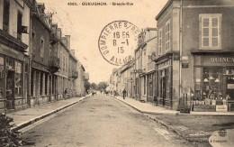 GUEUGNON     Grande Rue - Gueugnon