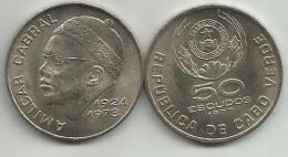 Cape Verde 50 Escudos 1977. KM#21 - Cap Vert