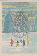 AK - SOS Kinderdorf - Karte - 40iger  - Fröhliche Weihnachten U. Glückl. Neues Jahr - Kinder