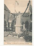 28 PERONVILLE LE MONUMENT AUX MORTS GUERRE DE 1914 1918  CPA BON ETAT - Other Municipalities