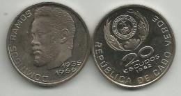 Cape Verde 20 Escudos 1982. KM#20 Unc - Cap Vert