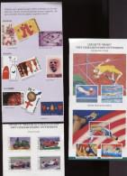 Belgie NA Niet Aangenomen Ontwerpen Uit Postfolders ZM Jeugdfilatelie, Europa Cept, Bloemen, Judo, ... - Belgique