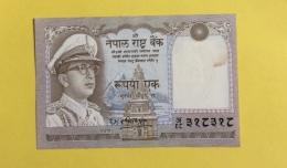 Népal : Billet De 1 Rupee, Type Mahendra Vira Vikrama - Nepal
