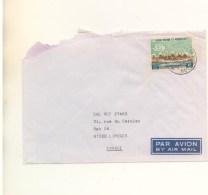 SAINT-PIERRE Et MIQUELON - N° 411 Sur Enveloppe Du 11/09/1972 Mal Ouverte - St.Pierre Et Miquelon