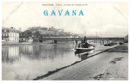 95 PONTOISE - Le Pont Du Chemin De Fer - Pontoise