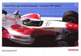 Toyota F1 Grand Prix Spa-Francorchamps - Grand Prix / F1