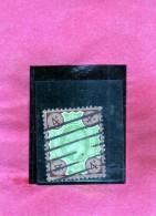 GREAT BRITAIN - GRAN BRETAGNA 1902 KING EDWARD VII RE EDOARDO 4p 4 P USATO USED OBLITERE' - 1902-1951 (Re)