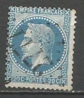 France - Obl. GC2777 PAMIERS Sur Timbre Napoleon III Et/ou Cérès - N°29 - Marcofilie (losse Zegels)