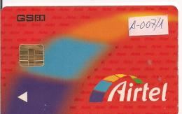 TARJETA GSM AIRTEL MUY ANTIGUA - Airtel