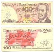 Polonia 100 Zlotych 1986 Pick 143.e Ref 78075 - Polonia
