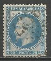 France - Obl. GC3137 RIGNAC Sur Timbre Napoleon III Et/ou Cérès - N°29 - Marcofilie (losse Zegels)