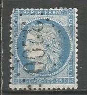 France - Obl. GC3200 ROQUEFORT Sur Timbre Napoleon III Et/ou Cérès - N°60 - Marcofilie (losse Zegels)