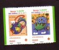 2008-N° 4306/4307**CROIX ROUGE - Neufs