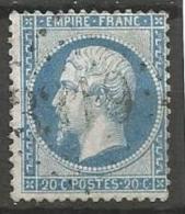 France - Obl. GC3319 SAULIEU Sur Timbre Napoleon III Et/ou Cérès - N°22 - Marcofilie (losse Zegels)