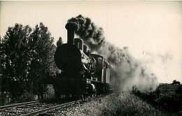 TRAIN PHOTO FENINO - 220816  - 130B709 - Locomotive Train Chemin De Fer - Trains