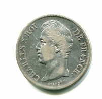 FRANCE- 5 Francs CHARLES X 1829 M (Toulouse) TTB - France