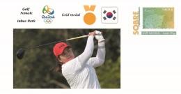 Spain 2016 - Olympic Games Rio 2016 - Gold Medal Golf Female South Korea Cover - Juegos Olímpicos