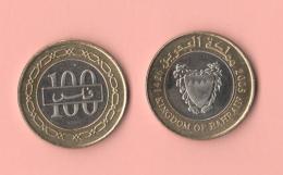 Baharain 100 Fils Bimetallico - Bahrein