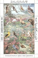 LIBIA  1982  MNH - Oiseaux