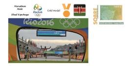 Spain 2016 - Olympic Games Rio 2016 - Gold Medal - Marathon Male Kenya Cover - Otros
