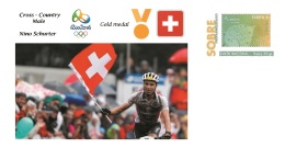 Spain 2016 - Olympic Games Rio 2016 - Gold Medal - Cross-country Male Switzerland Cover - Juegos Olímpicos