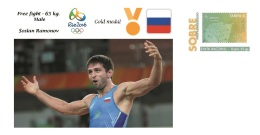Spain 2016 - Olympic Games Rio 2016 - Gold Medal - Free Fight Male Russia Cover - Juegos Olímpicos