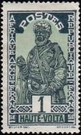 BURKINA FASO (Haute Volta) - Scott #43 Hausa Chief / Used Stamp - Upper Volta (1958-1984)