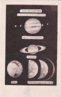 CPA  ASTRONOMIE Etude Des PLANETES Avec Lunette De 160 Milimètres JUPITER  SATURNE  MARS Et VENUS Voir SCAN DOS - Astronomie