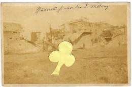 QUEANT Photo Allemande Sucrerie 1918 - France
