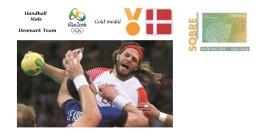 Spain 2016 - Olympic Games Rio 2016 - Gold Medal - Handball Male Denmark Cover - Juegos Olímpicos
