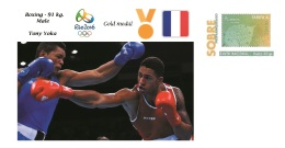 Spain 2016 - Olympic Games Rio 2016 - Gold Medal - Boxing Male France Cover - Juegos Olímpicos