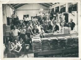 Superbe Photo Fabrication De Disques 78 Tours !!! - Professions