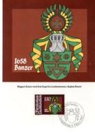 LIECHTENSTEIN  Carte Maxi  1982  Armoiries Stephan Banzer - Coat Of Arms