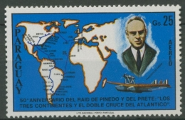 Paraguay 1978 Weltkarte, Franciso De Pineda 3101 Postfrisch - Paraguay