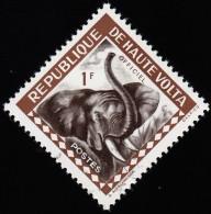 BURKINA FASO (Haute Volta) - Scott # O1 Elephant / Mint NH Stamp - Upper Volta (1958-1984)