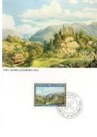 LIECHTENSTEIN  Carte Maxi  1982  Moritz Menzinger Tableaux Paysage    Neu  Schellenberg - Ohne Zuordnung