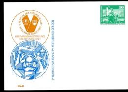 KARL-MARX-DENKMAL CHEMITZ DDR PP16 C2/015 Privat-Postkarten 1980 - Karl Marx