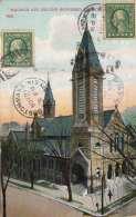 BOSTON (Massachusetts) - Madison Ave, Second Reformed Church, Gel.1946, 2 Marken - Boston