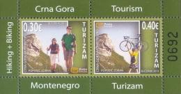 Montenegro 2013 Mih. 330/31 Tourism. Hiking And Cycling (M/S) MNH ** - Montenegro