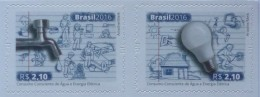 Brasil 2016 ** Uso Consciente Del Agua Y Energia Electrica. See Desc. - Brasile