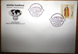 Portugal - Lions Club Portimão 80 Years - We Serve - Nós Servimos - World 1997 - Rotary Club